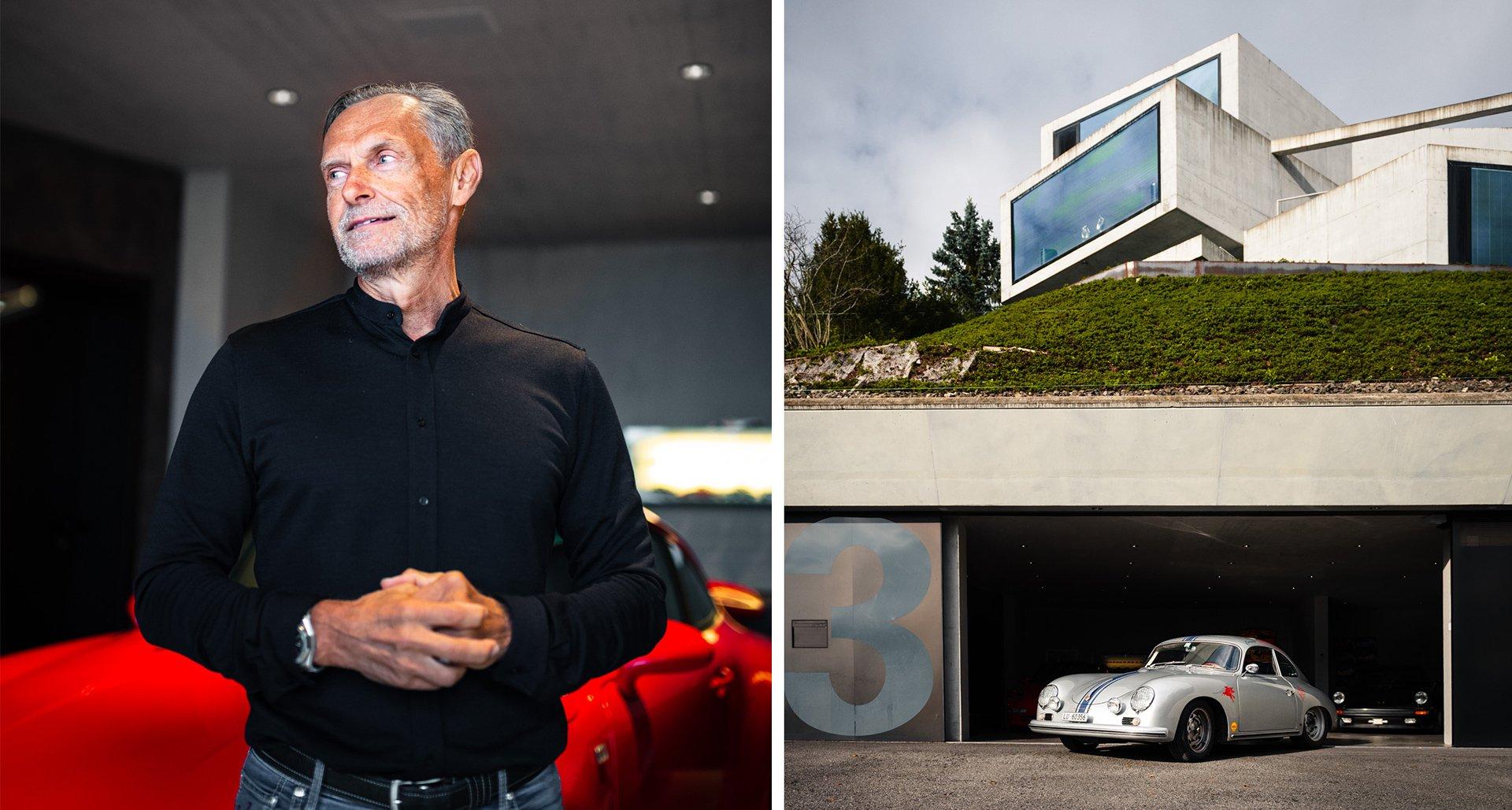 Traumhaus mit Porschegarage